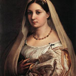 Raffaello - Woman with a Veil (La Donna Velata)