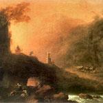 Krajobraz romantyczny-Lampi, Franciszek Ksawery 1782-1852