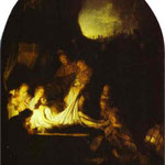 Rembrandt - The Entombment of Christ