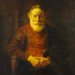 Rembrandt - An Old Man in Red