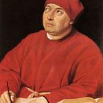 Raffaello - Cardinal Tommaso Inghirami