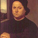 Raffaello - Portrait of Perugino