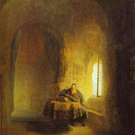 Rembrandt - Philosopher Reading