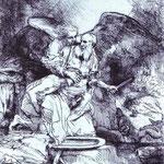 Rembrandt - Abraham's Sacrifice