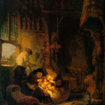 Rembrandt - Holy Family [1640]