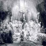 1653 Le Christ Entre Deux Larrons,louvre