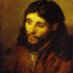 Rembrandt - The Head of Christ