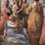 Raffaello - Stanze Vaticane - The Parnassus (detail) [02