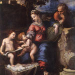 Raffaello - Holy Family below the Oak