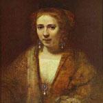 Rembrandt - Portrait of Hendrickje Stoffels