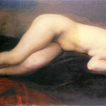 Akt lezacy-Weiss, Wojciech  1875-1950