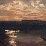 Pejzaz z jeziorem I-Gierymski, Maksymilian 1846-1874