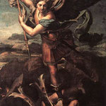 Raffaello - St Michael and the Satan