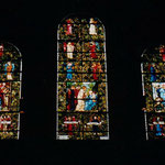Edward Burne-Jones and William Morris' Nativity windows (1882), Trinity Church, Boston