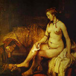 Rembrandt - Bathsheba with King David's Letter
