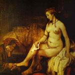 Rembrandt - Bathsheba with King David's Letter