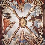 Fresken der Kapelle der Eleonora da Toledo im Palazzo Vecchio in Florenz, Deckenfresko