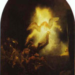 Rembrandt - The Resurrection of Christ