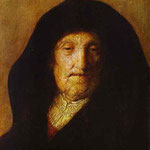 Rembrandt - Portrait of Rembrandt's Mother