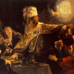 Rembrandt - The Feast of Belshazzar [c. 1635]