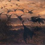 Odlot zurawi-Chelmonski, Józef  1849-1914