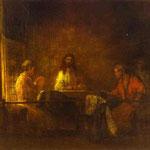 Rembrandt - The Pilgrims at Emmaus