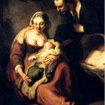 1635 La Sainte Famille,munich