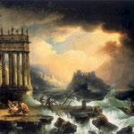 Ratowanie rozbitków-Lampi, Franciszek Ksawery 1782-1852