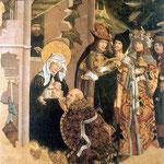 Poliptyk Augustianski, kwatera Hold Trzech Króli-Haberschrack, Mikolaj XV wiek