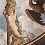 Fresken der Kapelle der Eleonora da Toledo im Palazzo Vecchio in Florenz, Deckenfresko, Detail