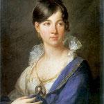 Portret Marii z Borakowskich Magnuszewskiej-Lampi, Franciszek Ksawery 1782-1852