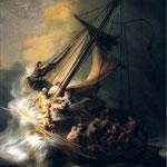1633 Le Christ Dans La Tempete,boston