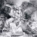 1655 Le Sacrifice D Isaac,louvre