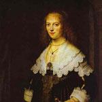 Rembrandt - Portrait of Maria Trip