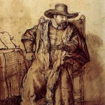 1640 Le Predicateur Menonite Cornelis,louvre