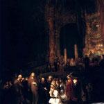 1644 Le Christ Et La Femme Adultere,londres Ng