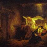Rembrandt - St. Joseph's Dream