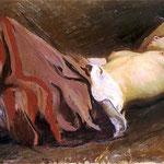 Upadla dziewczyna-Weiss, Wojciech  1875-1950