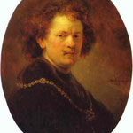 Rembrandt - Self-Portrait Bareheaded