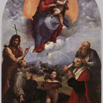 Raffaello - The Madonna of Foligno