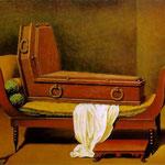 Magritte - Perspective I, David's Madame Recamier