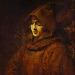 Rembrandt - Titus in a Monk Habit