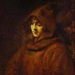 Rembrandt - Titus in a Monk Habit
