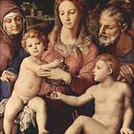 Holy Family, 1534-40