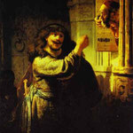 Rembrandt - Samson Accusing His Father-in-Law