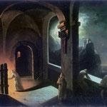 Scena w klasztorze kartuzów-Lampi, Franciszek Ksawery 1782-1852