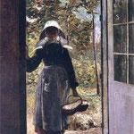 Bretonka na progu domu-Bilinska-Bohdanowicz, Anna 1857-1893