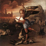 Raffaello - St Michael and the Dragon