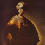Rembrandt - Portrait of a Noble (Oriental) Man