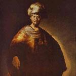 Rembrandt - Portrait of a Noble (Oriental) Man